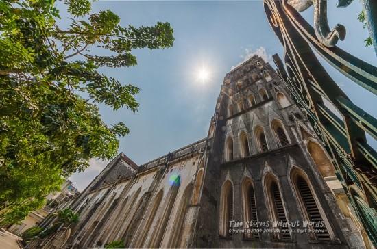 『Nhà thờ lớn Hà Nội』 K-5IIs SIGMA 8-16mmF4.5-5.6 [8mm F11 ISO160]