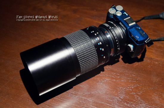 『2300mm相当』 K-5IIs FA31mmF1.8 [ F2.8 1/125 ISO2200]