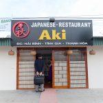 Japanese restaurant Aki