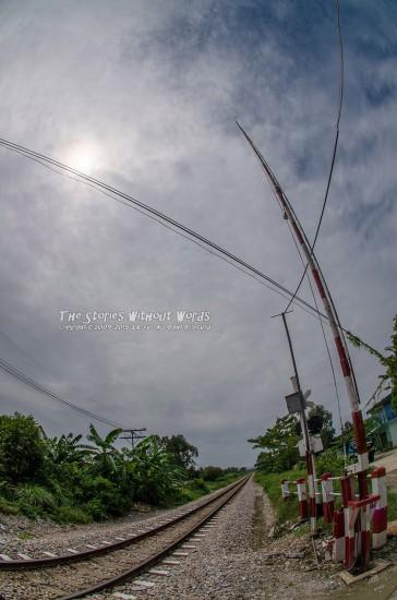 『太陽を釣る』 K-5IIs SIGMA 10mmF2.8Fisheye [ F11 1/6000 ISO160]