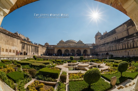 『Sun Garden』 [10 mm 1-2000 秒 (f - 11) ISO 160]