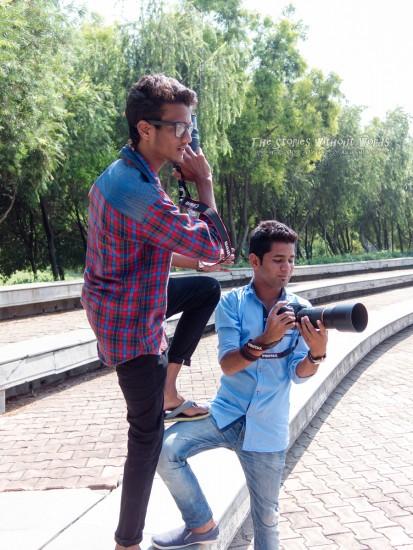 『インドの青年』 [8.5 mm 1-800 秒 (f - 1.9) ISO 100]