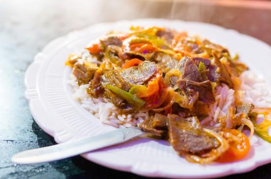 『Mutton Steak + Rice』
