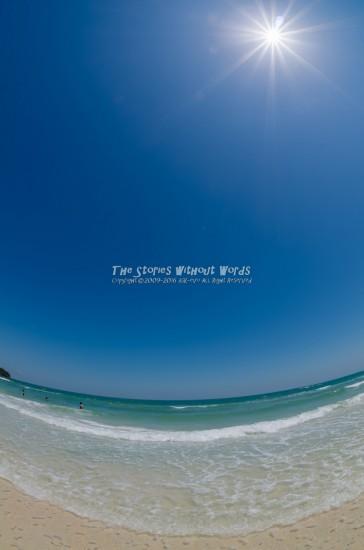 『太陽と海の贈り物』 K-5IIs[10 mm 1-750 秒 (f - 11) ISO 160]