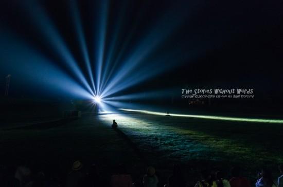 『光のアート』 K-5IIs [16 mm 0.5 秒 (f - 5.6) ISO 1600]