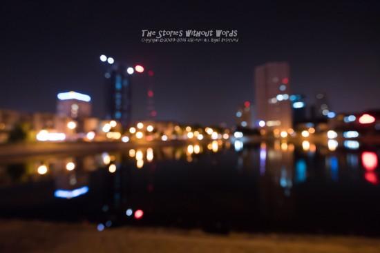『滲む夜』 α7RII [16 mm 1-8 秒 (f - 4.0) ISO 6400]