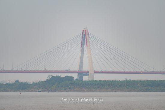 『吊り橋』 K-1 / DA*300mmF4 [ F4 1/1500 ISO100]