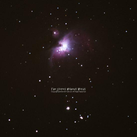 『オリオン大星雲』 K-1 / DA*300mmF4 [ F4 10sec ISO1600]