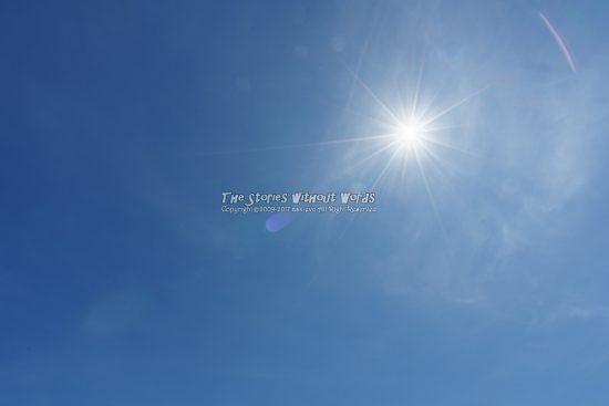『輝く太陽』 A7RII / SEL1635Z [16mm F16 1/8000 ISO100]
